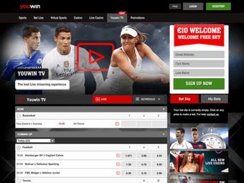 Uwin live betting football 1 minute best free binary options robot